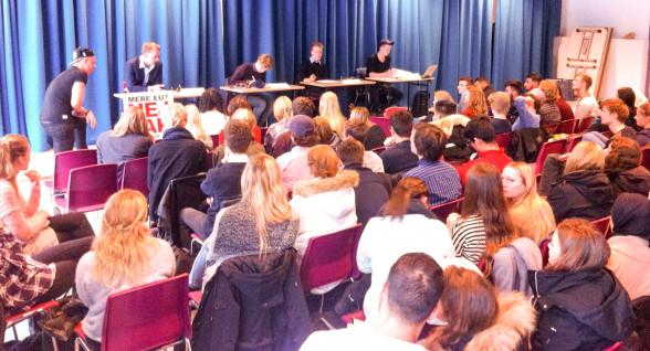 Debatmøde om folkeafstemningen om retsforbeholdet